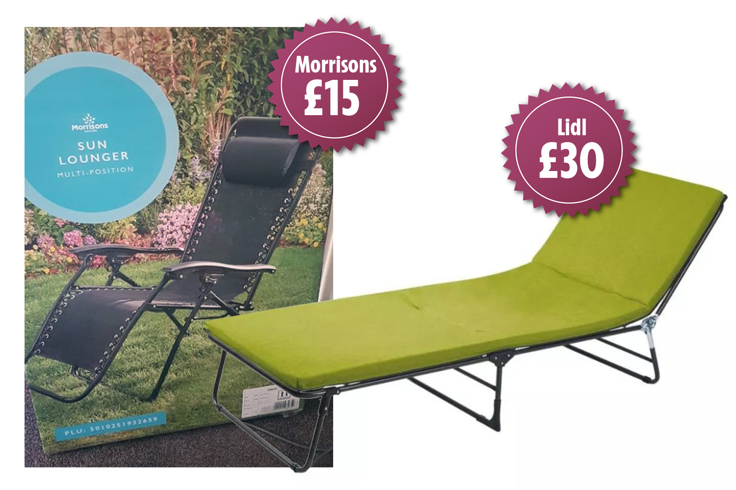 Morrisons Is Selling A Sun Lounger For 15 And It S Half The Price Of Lidl S