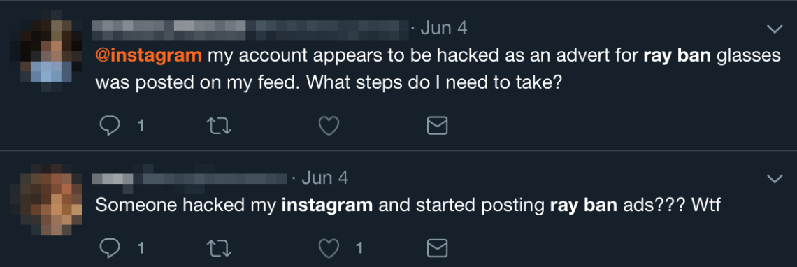 Instagram users are being warned to better protect their accounts