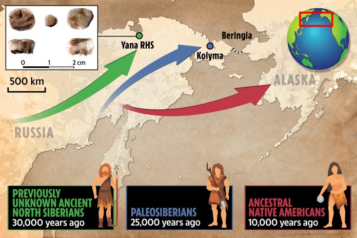 500 Year Old Map Of America.Missing Link In Human Evolution Found As 30 000 Year Old