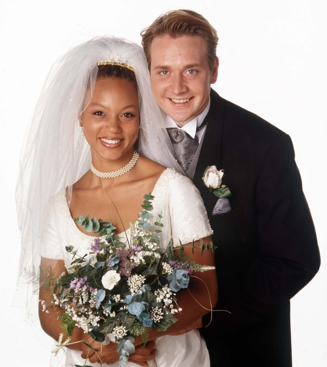 Alan McKenna (played by Glenn Hugill) and Fiona did not wed but had son Morgan