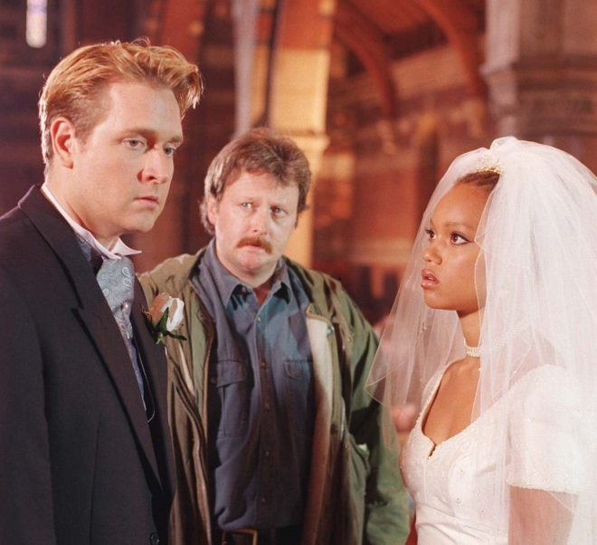 Fiona was dumped at the altar by detective Alan McKenna when Jim McDonald revealed their fling