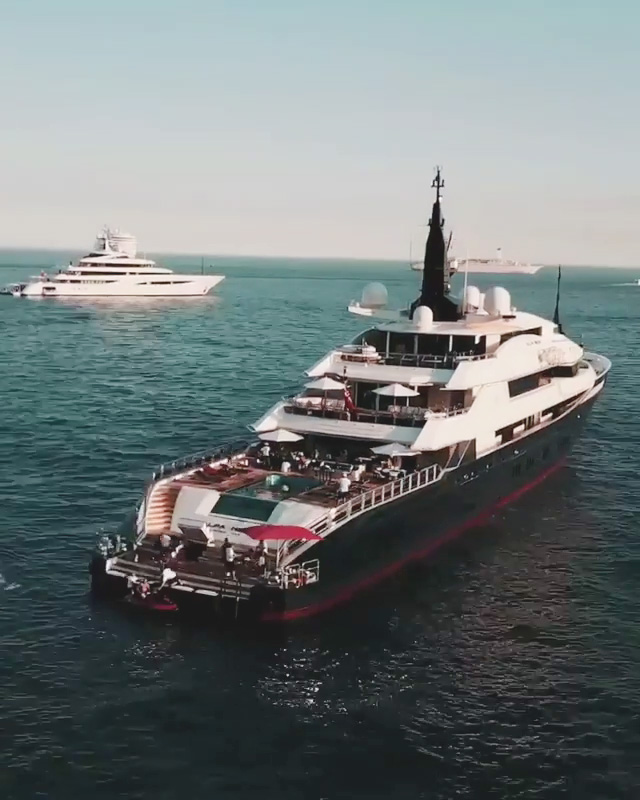 Hamilton is said to entertain guests including supermodels Bella Hadid and Kendall Jenner on board his yacht