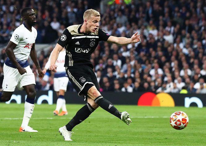 Donny van de Beek enjoyed his breakthrough on the European stage, playing an under-appreciated role in Ajax's run to the Champions League semi-finals