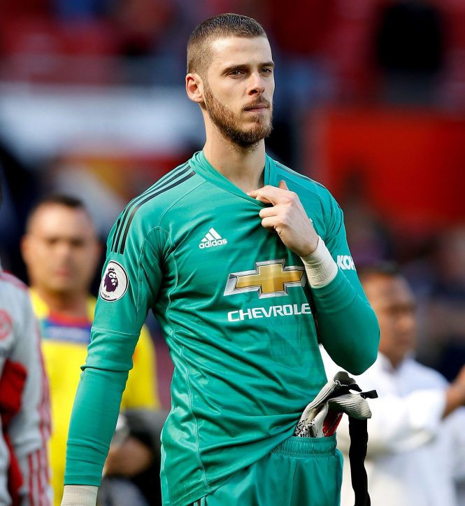 Real Madrid and Barcelona are both keen on Spain No 1 David de Gea, who has not signed a new Man Utd contract
