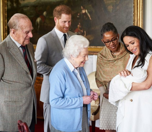 Prince Philip recently became a great-grandpa for the eighth time