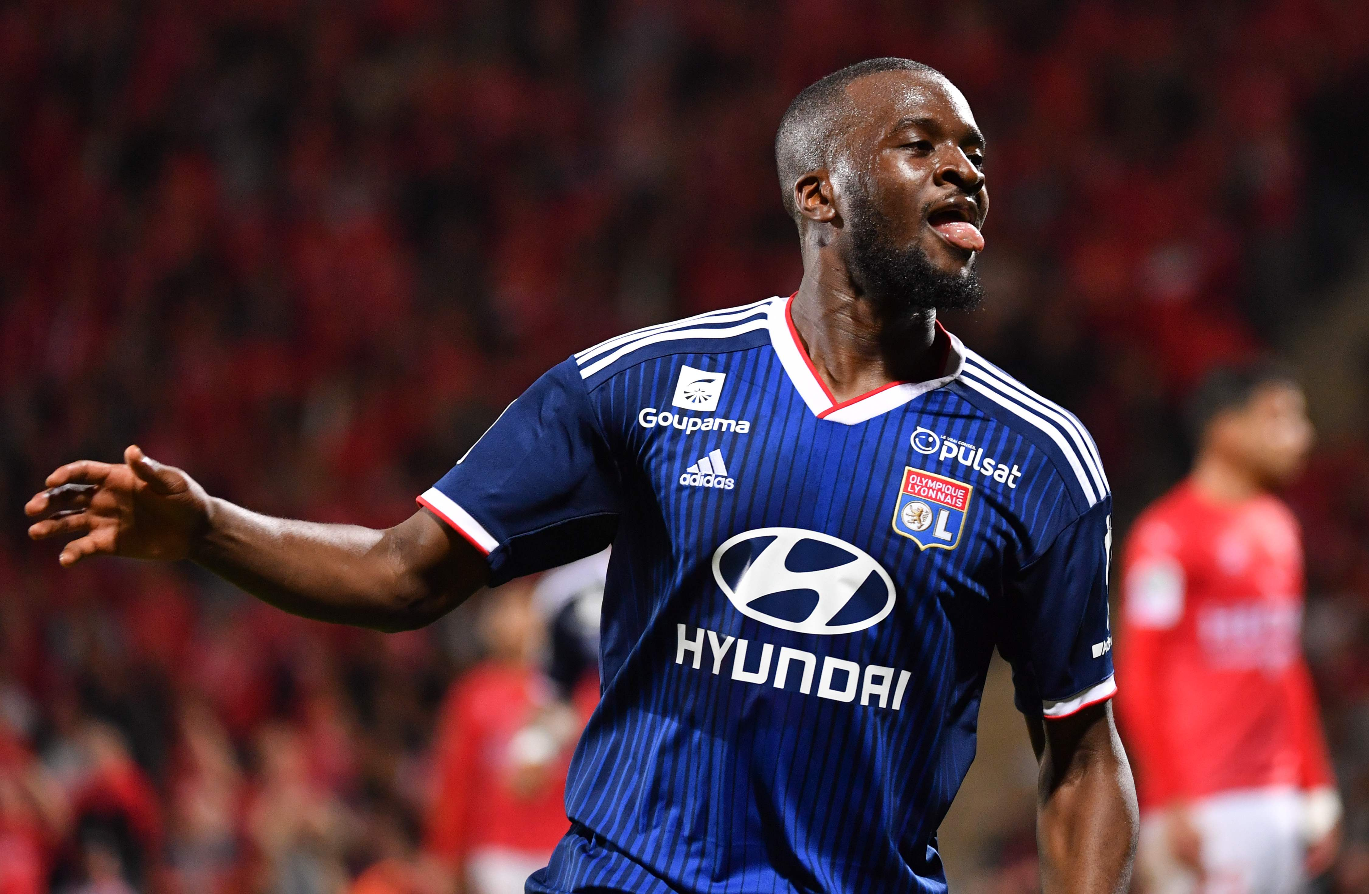 Tanguy Ndombele could be set for a £50million switch to Tottenham this summer