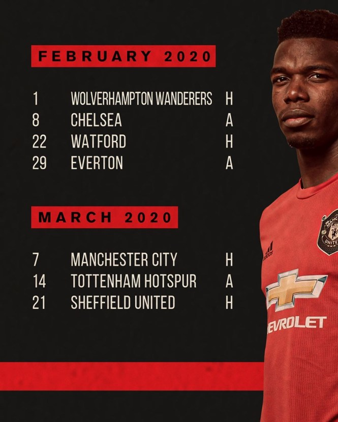 United continue to use Paul Pogba in their promotional material