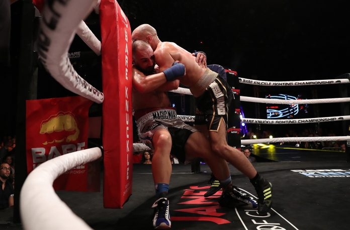 Malignaggi cited an alleged broken right hand in the second round as the reason for his defeat