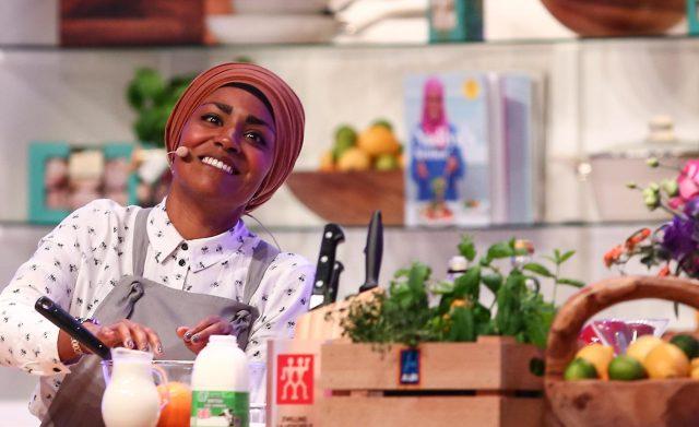 Nadiya was slammed for using tinned potatoes in her cookbook