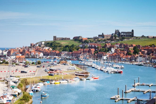 The seaside town of Whitby is the focus of celebrations this year