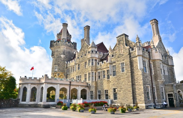 Casa Loma is a vast faux-castle once used by spies