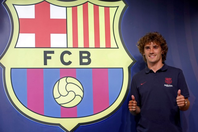 The sight of Antoine Griezmann signing for Barcelona has angered Atleti fans