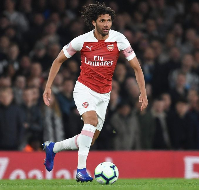 A dead body was discovered in the home of Mohamed Elneny