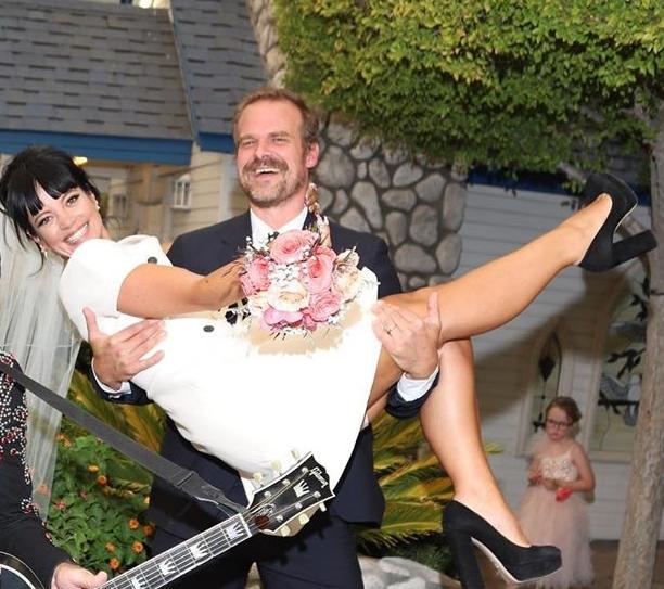 David married Lily Allen in September 2020