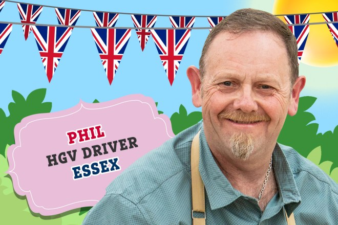 Meet Bake Off 2019's Phil