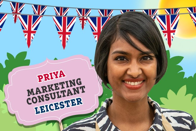 Meet Priya from Bake Off