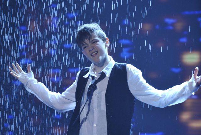 George Sampson's Singin' in the Rain performance helped him win Britain's Got Talent 2008