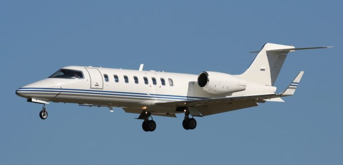 The private jet created seven times more CO2 per person than the scheduled flights from London the same day