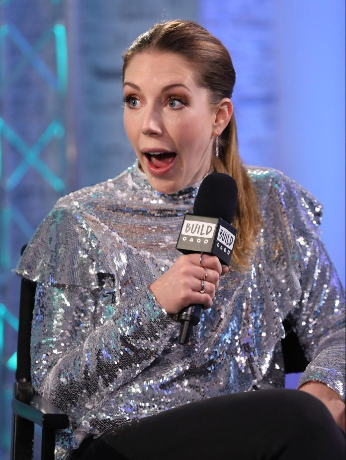 Comedian Katherine Ryan has targeted Cheryl with a joke over her battle with malaria