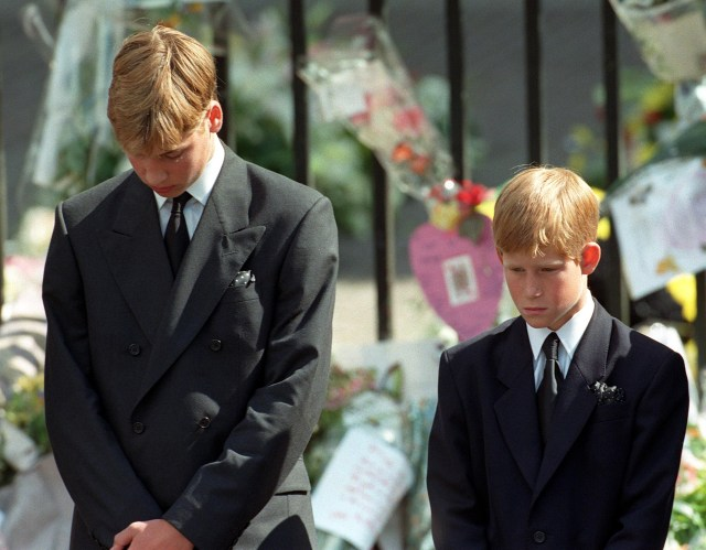 When Princess Diana passed away, she left behind a 15-year-old Prince William and a 12-year-old Prince Harry