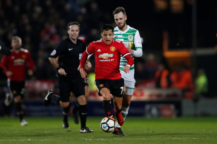 Sanchez's United debut against Yeovil showed positive signs, but they weren't to last