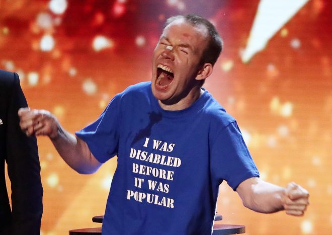 Lost Voice Guy won series 12 of Britain's Got Talent in 2018