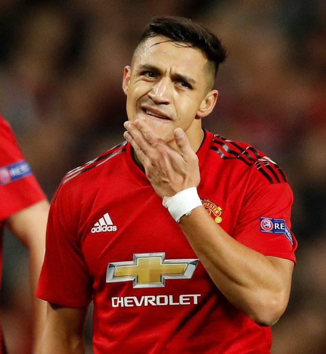 Alexis Sanchez managed just one Premier League goal in the entire season despite his £505,000-per-week wages