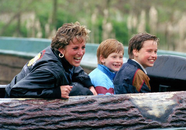 Diana adored her boys and wanted them to have a relatively normal upbringing when they weren't in the public eye