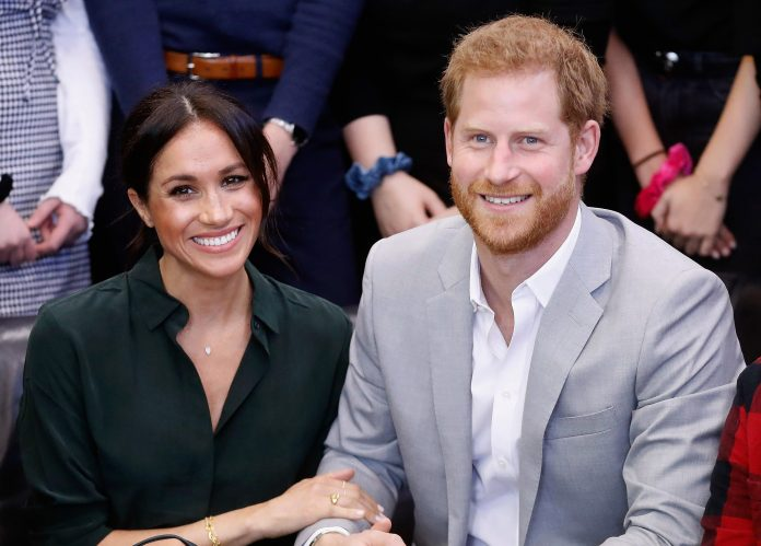 The royal couple flew to Ibiza on a private jet to celebrate Meghans birthday