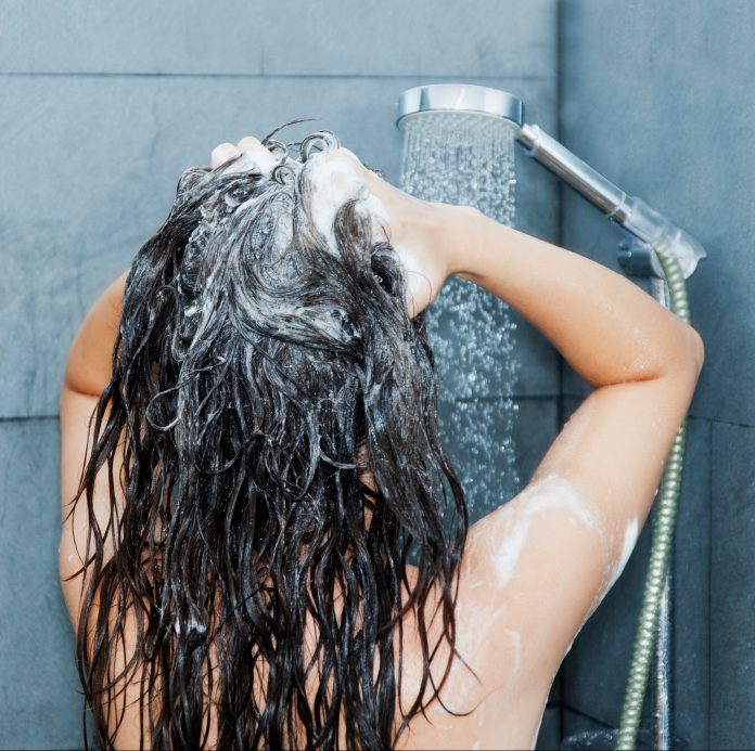 Overdoing it with hair washes can cause a dry, irritated scalp