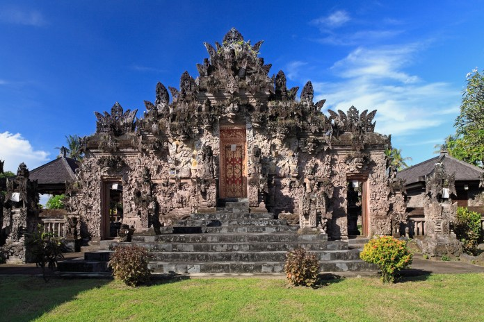 The Beji Temple is famed for its purification powers of spiritual and physical cleansing