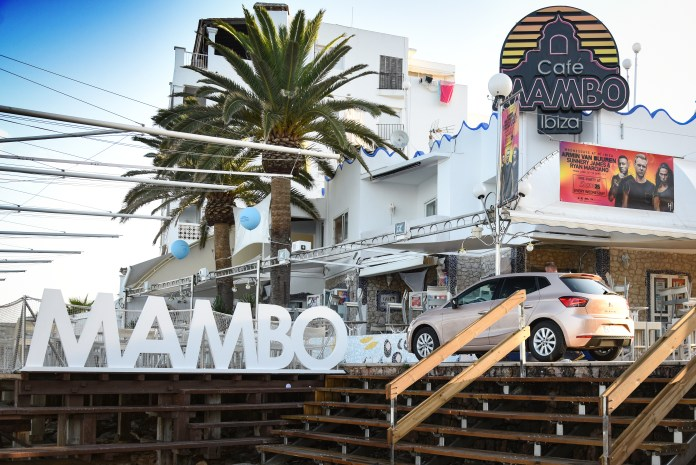 Cafe Mambo is probably the most famous sunset bar in the world