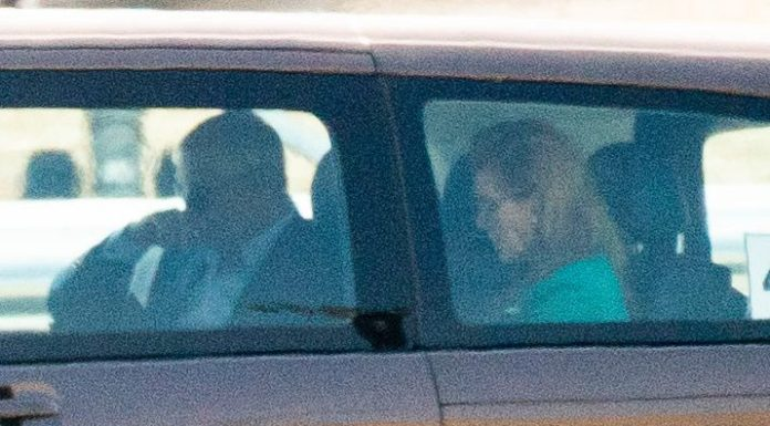 The pair were driven from Malaga airport