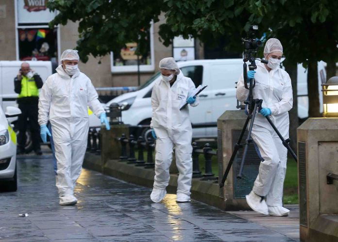 A murder investigation has been launched following the stabbing in Newcastle city centre
