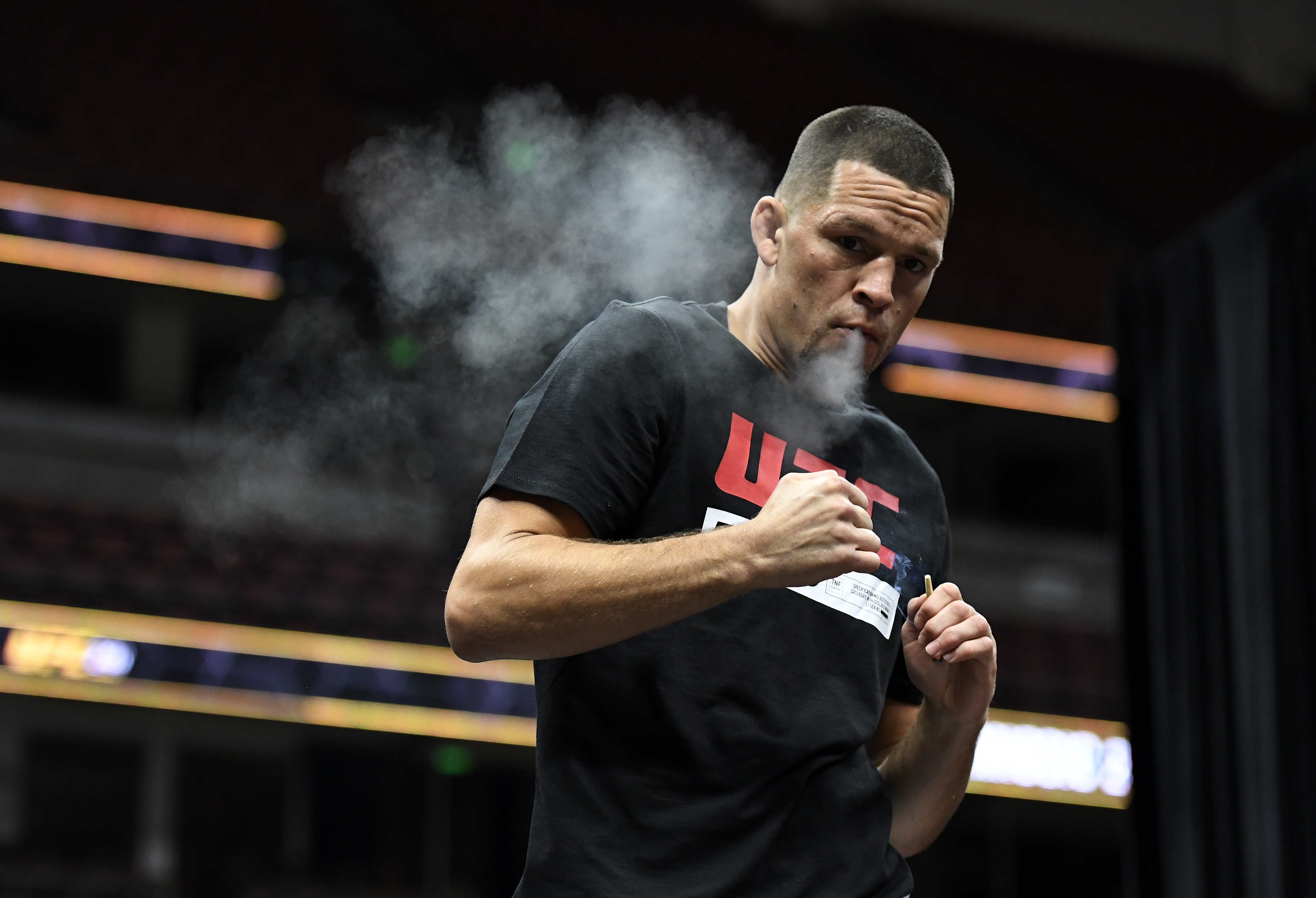 Diaz makes his octagon return on Saturday facing old rival Anthony Pettis in his home of California