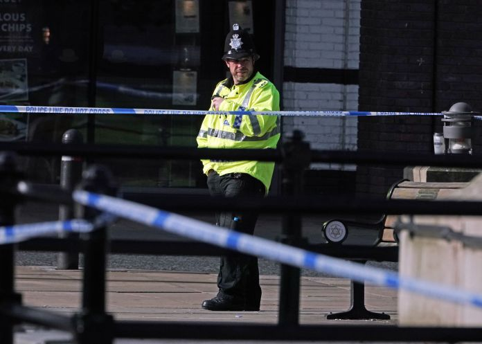 Police arrested seven males on suspicion of murder after a man was stabbed to death