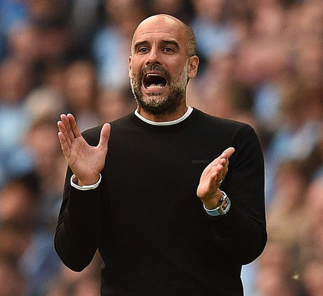 Pep Guardiola decided to keep his players at their Etihad campus base this week rather than fly to Spain for warm-weather training