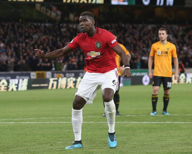 Gary Neville slated Paul Pogba after he missed a crucial penalty against Wolves