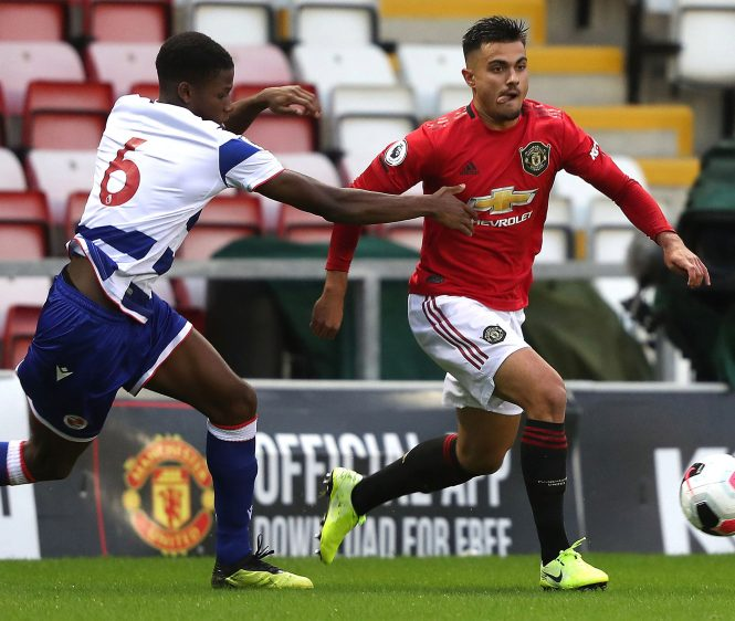Man Utd wonderkid Arnau Puigmal is highly thought of in the Red Devils academy