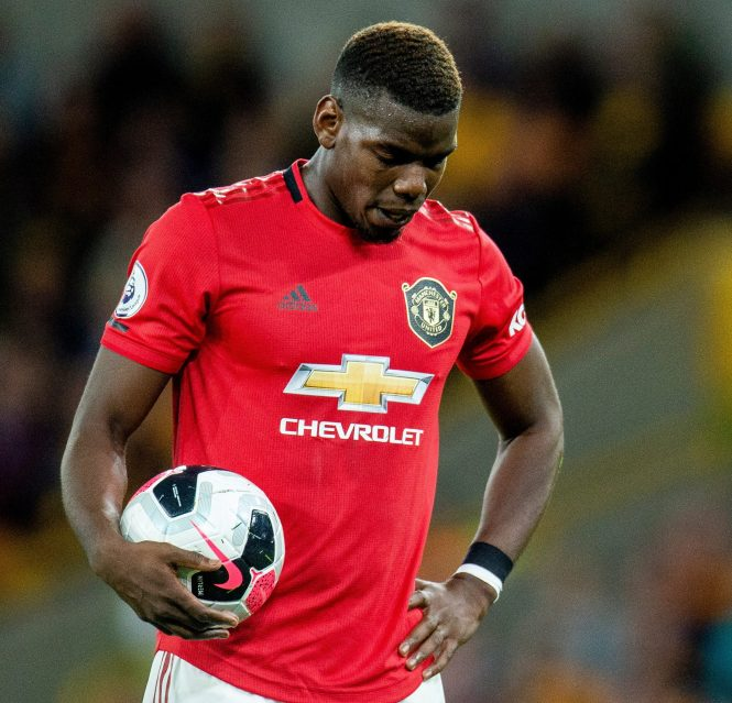 Paul Pogba was also often blamed for United's struggles during a turbulent season
