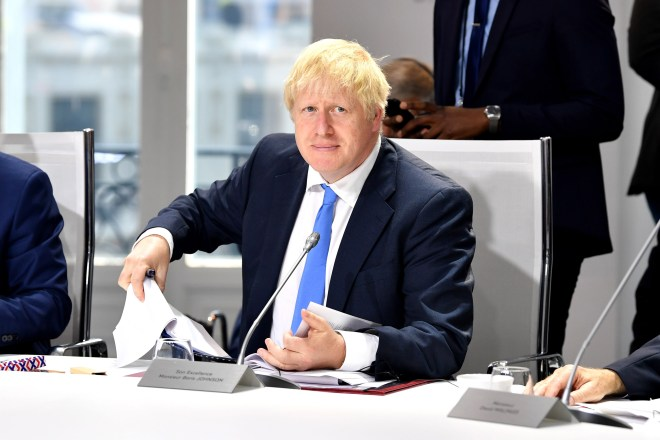 British Prime Minister Boris Johnson is determined to play hardball with the EU