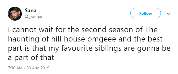 Fans are chuffed about the second season