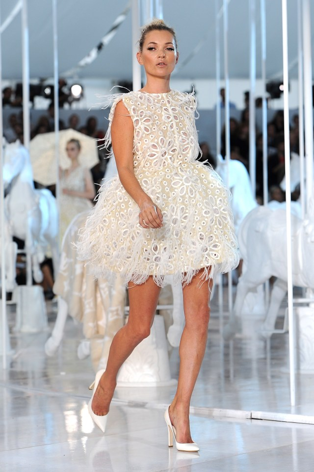 Catwalk queen Kate Moss raked in £9m last year