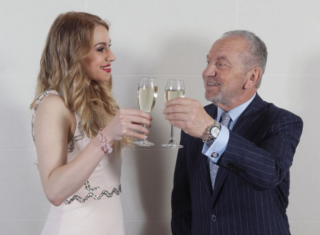 The split between 2016 winner Alana and Lord Sugar seems amicable