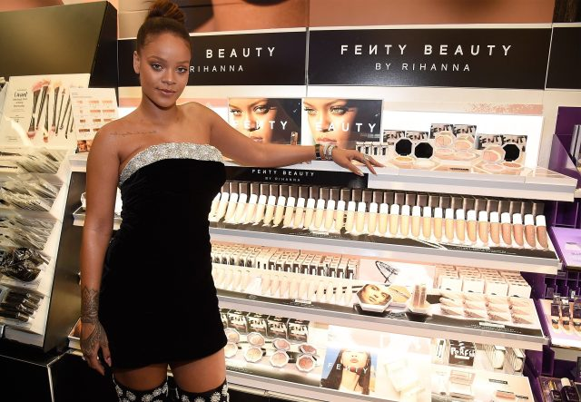 Rihanna's cosmetic line Fenty Beauty has earned the star a huge £2.5bn