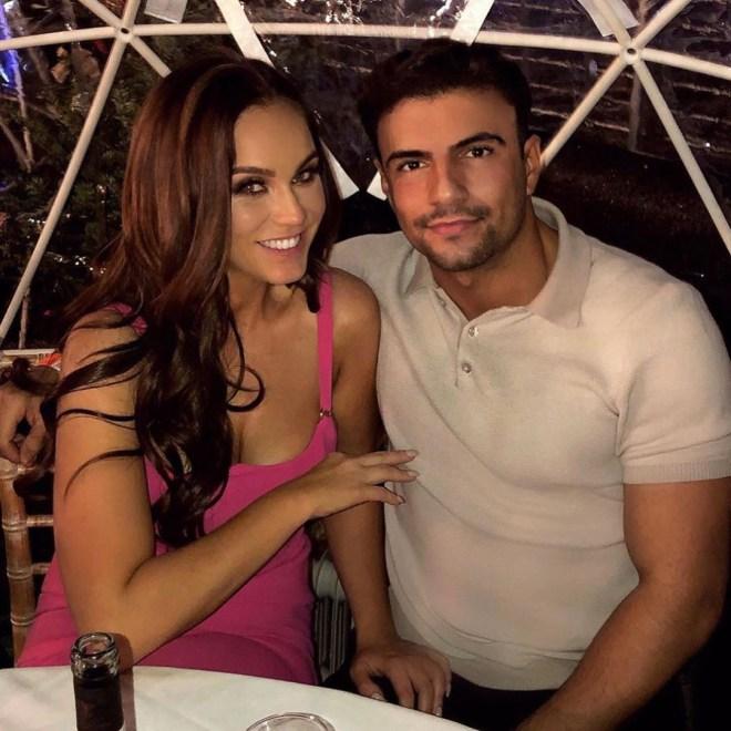 Vicky Pattison with boyfriend Ercan Ramadan