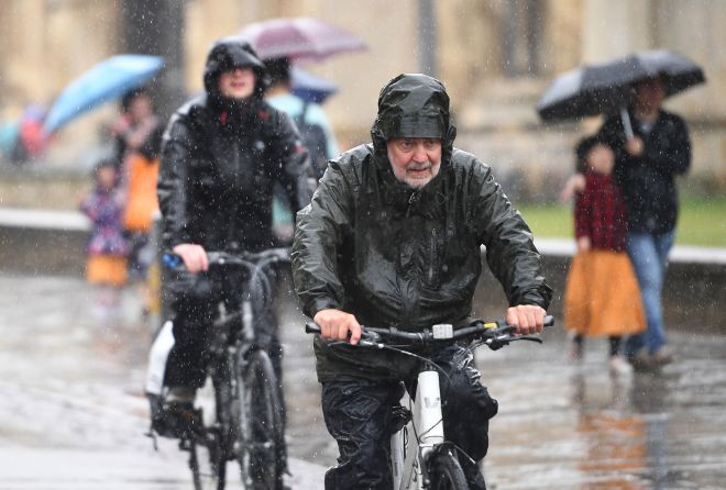 Rain is on the cards for parts of the UK next week