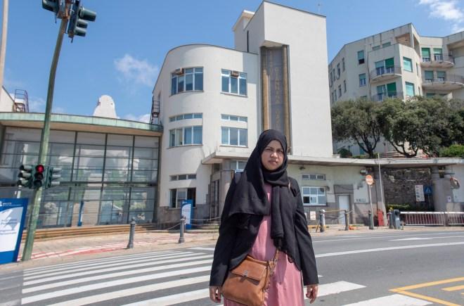 Shelina visited the Gaslini Children's Hospital in Genoa, Italy, that has offered to treat Tafida