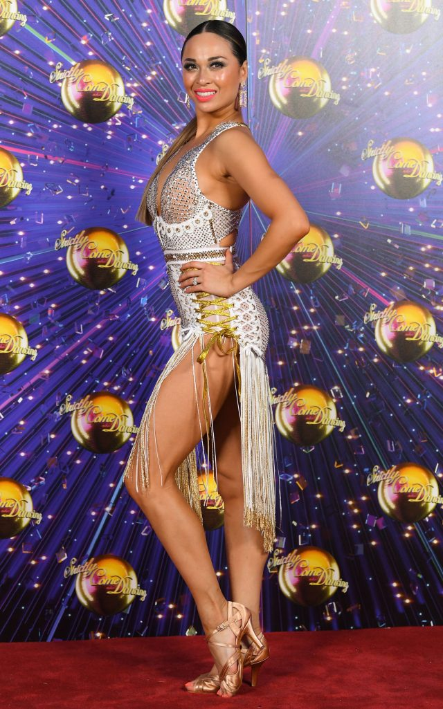 Katya Jones, who has been hit by the Strictly curse herself, said Kevin was always the one who was the most determined to bag a particular woman