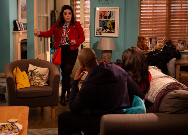 Mandy Dingle returns with a bang on tonight's episode of Emmerdale